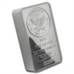 100 oz 1982 Sunshine Silver Bar (Vintage, Pressed) .999 Fine